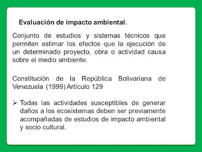 2. Evaluación de impacto ambiental