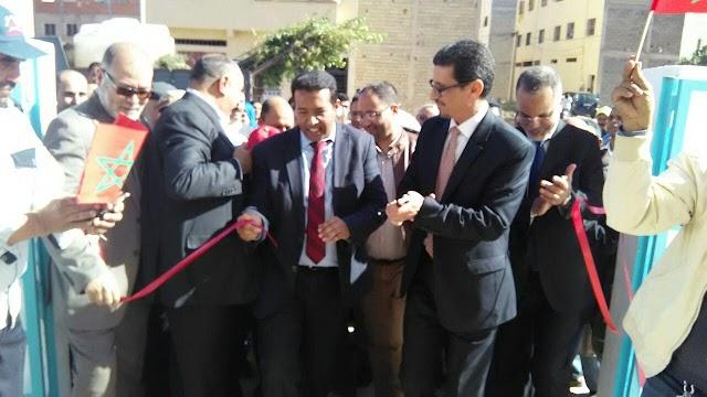 بمناسبة عيد الاستقلال .. افتتاح المركز الصحي الحضري المسيرة بمدينة الدروة