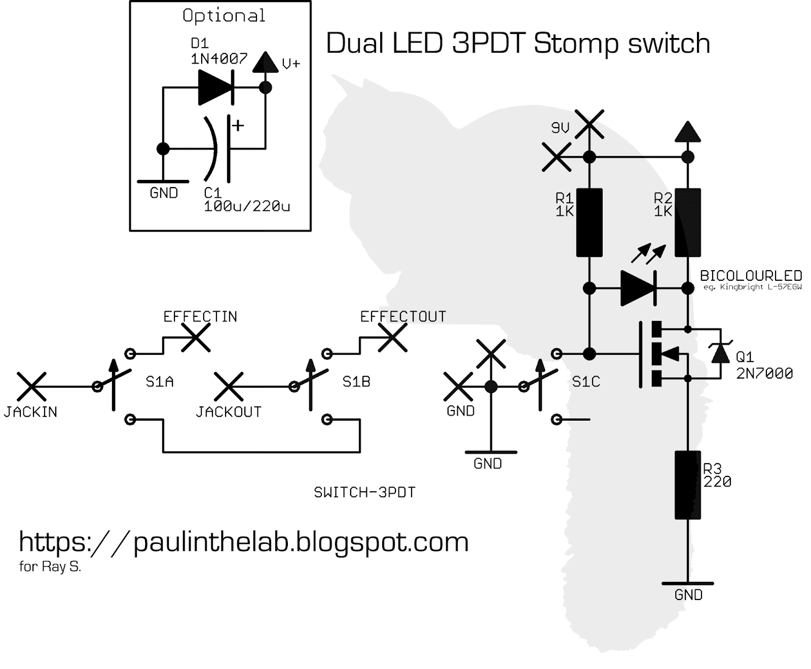 Paul In The Lab: November 2018 Aby Switch Schematic on
