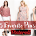 5 Favorite Pins on My Pinterest