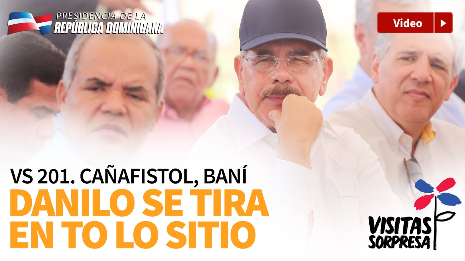 VIDEO: Cañafistol, Baní. Danilo se tira en to' lo sitio