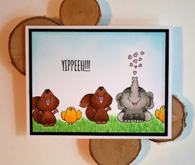 Coloring Grass and Critters with Copics by Jess Gerstner featuring Gerda Steiner Designs Stamps