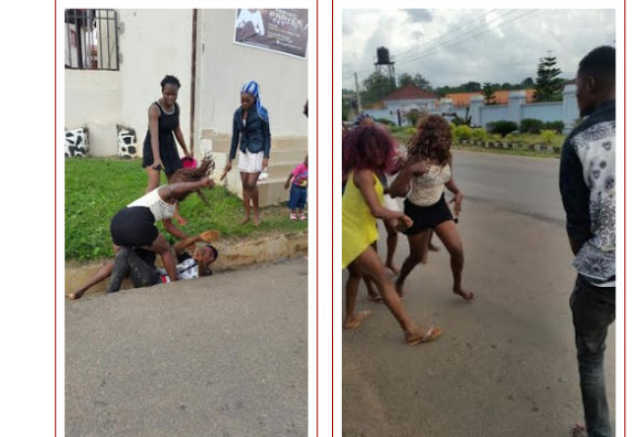 Image result for nigerian woman beating up Nigerian man