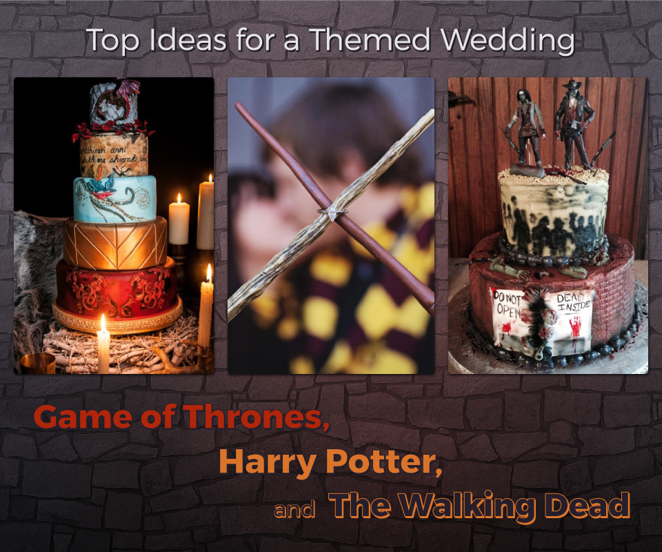 Video Game Wedding Ideas: Trending Wedding Themes: Game Of Thrones, Harry Potter
