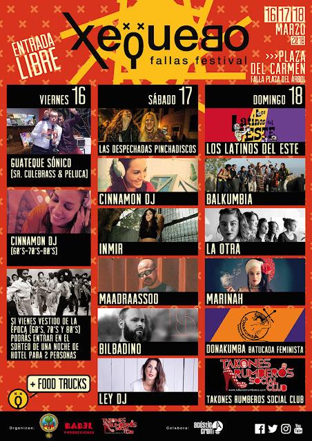 Xequebo 2018 Fallas Festival