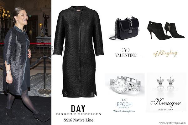 440a7f8b47b4 Crown Princess wore a new DAY Birger et Mikkelsen dress. The Princess  carried a Valentino