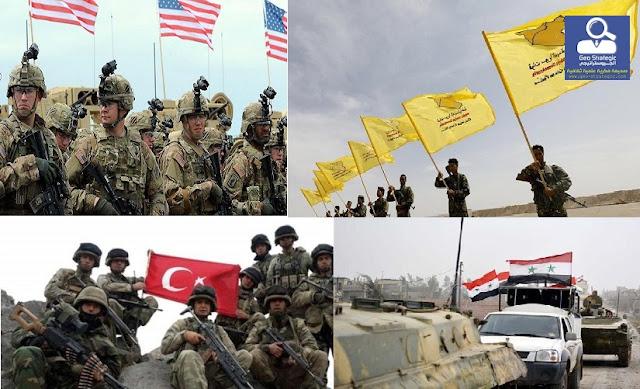 الوجود التركي في سوريا بين فكي المطرقة الروسية والسندان الأمريكي ( هيكلية الأحداث جيوسياسياً والسيناريوهات المتوقعة)