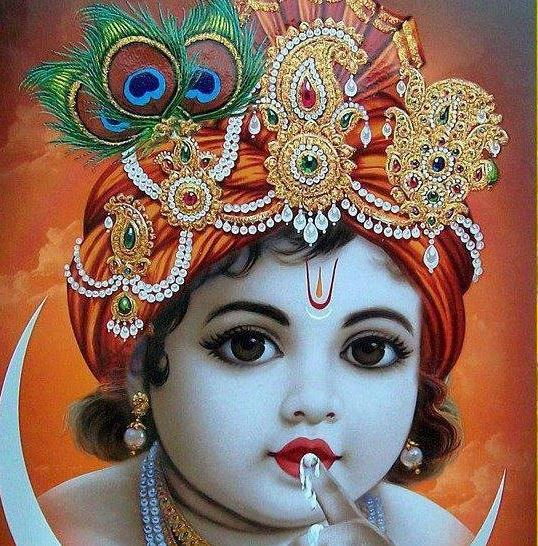 10 Latest Cute Bal Krishna Hd Wallpapers For Android Iphones