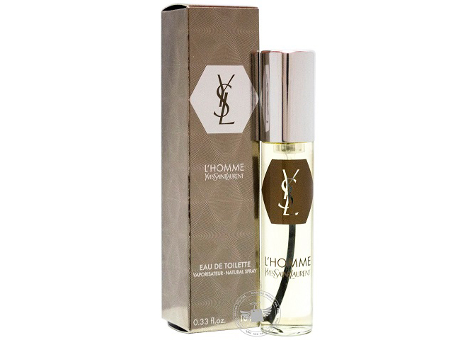 d6aba226ead   New   YSL L Homme 10ml Edt Spray ~ Miniature Travel Size