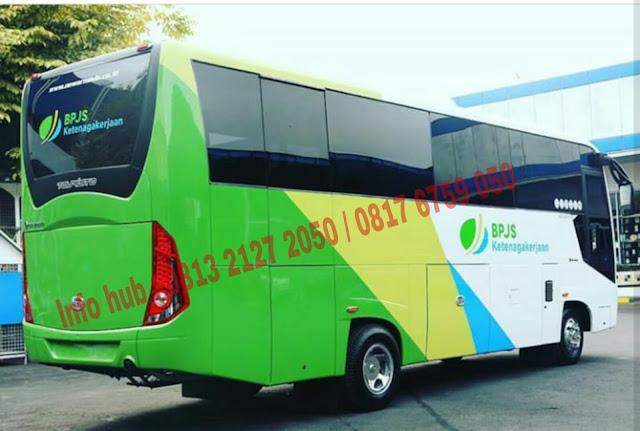 harga mobil bus medium standart mitsubishi 2019