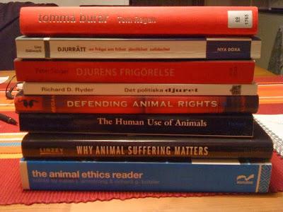 Djurrättsböcker - Rörelse för djurrätt