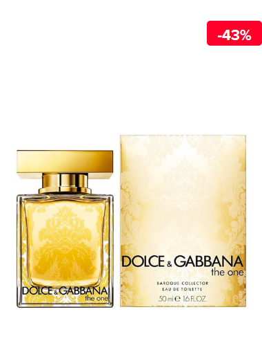 Dolce & Gabbana Apa de toaleta The One Baroque Collector, 50 ml, pentru femei