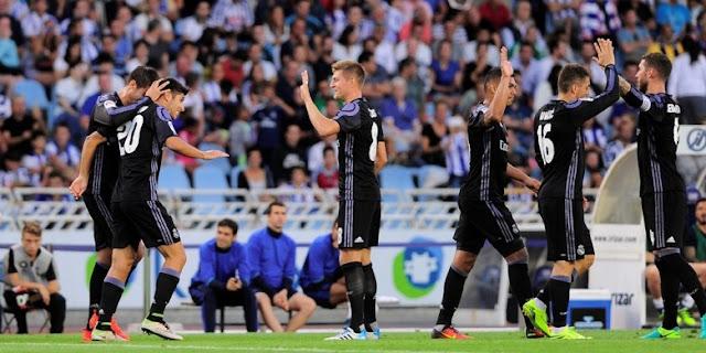 Real Madrid Membuntuti Barcelona Di Puncak Klasemen