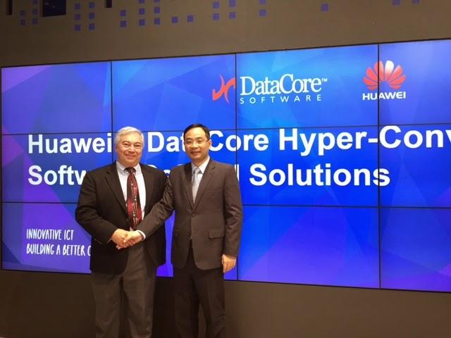 Huawei et DataCore annoncent un partenariat mondial
