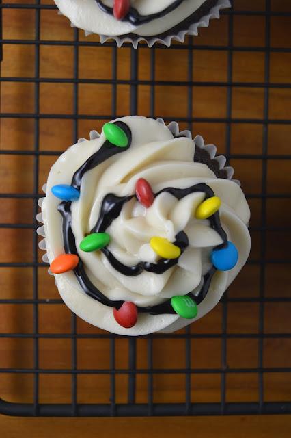 Christmas Lights Cupcakes Recipe
