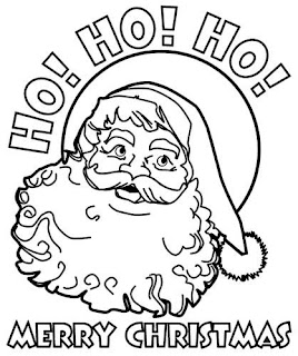 Free Printable Xmas Coloring Pages