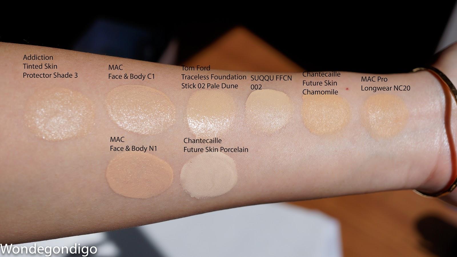 Mac Makeup Foundation Color Chart