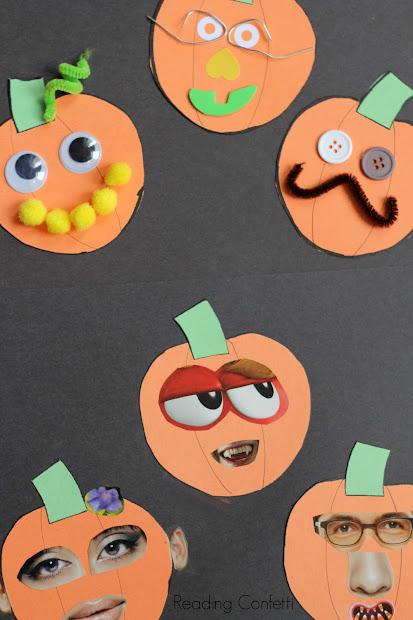 Collage Craft Jack O' Lantern