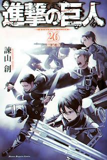 Shingeki no Kyojin vol 26