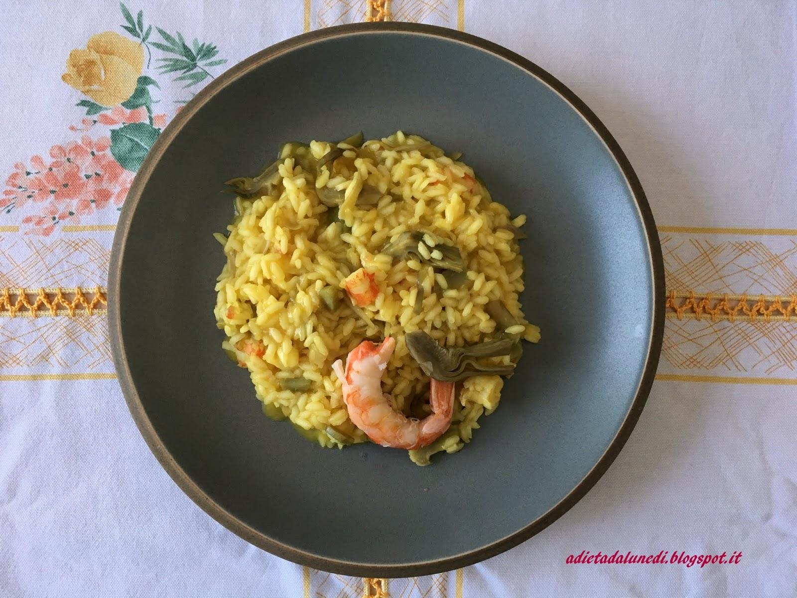 come il riso bianco è fatto per la dieta