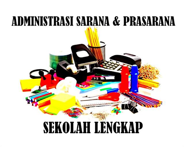 Aplikasi Administrasi Sarana & Prasarana Sekolah Lengkap