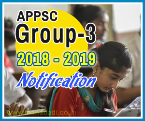 APPSC Panchayat Secretary Notification 2018