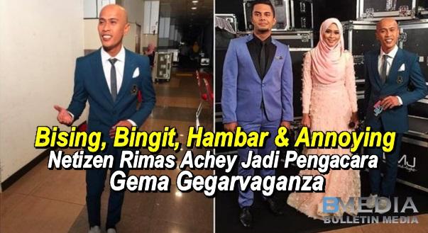 Netizen rimas dan meluat Achey bingit jadi pengacara Gema Gegar Vaganza