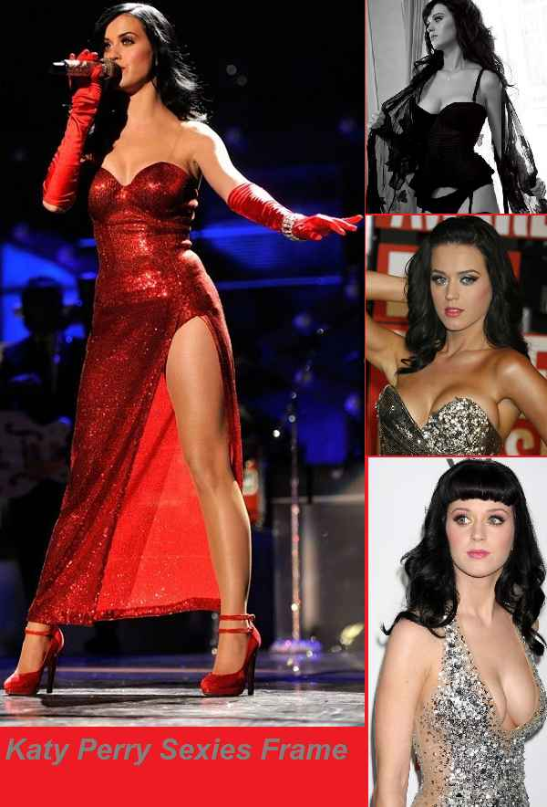 KATY PERRY SEXIEST CLEAVAGE BOOBS PICS ALL IN ONE FRAME