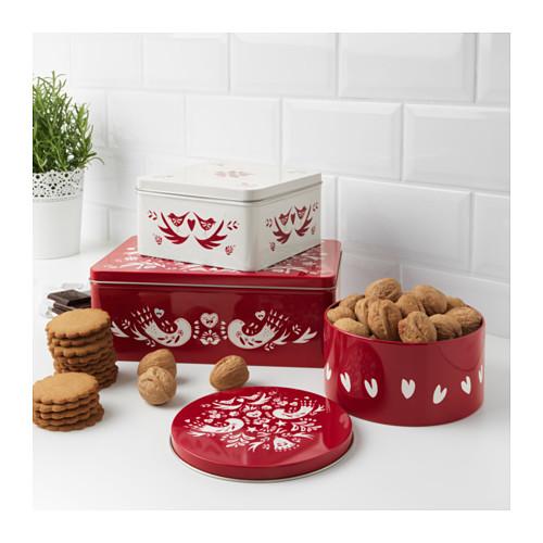 Mis 'must' para la mesa de navidad, de IKEA - latas para galletas