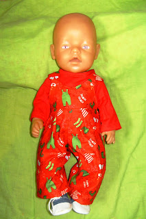 doll's xmas outfits in Dotties dolls clothes