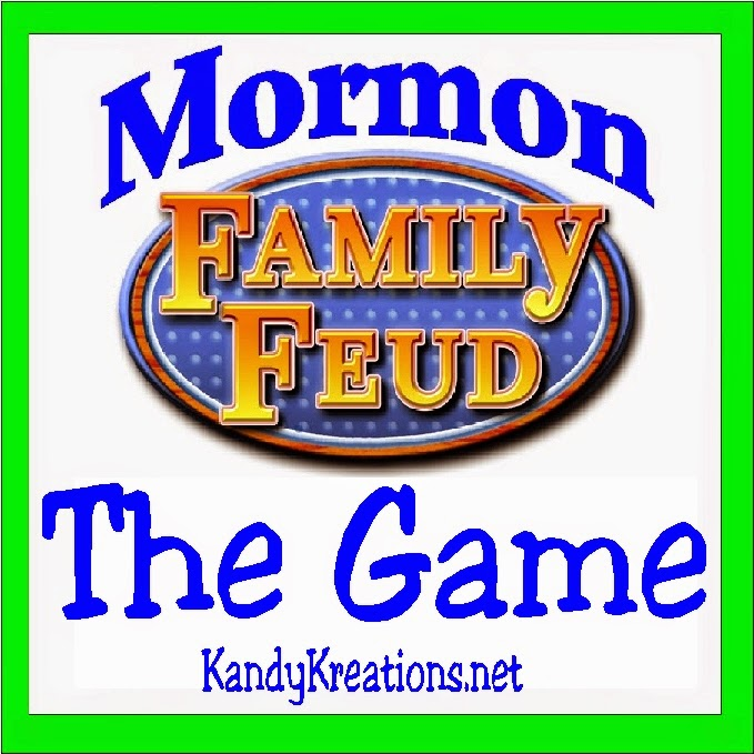 Play the Mormon family feud with your church ward or youth with this game night activity.  We surveyed 100 (or thousands of) people and have the top answers, and everything else you need, for you to have a fun game night with your LDS friends.
