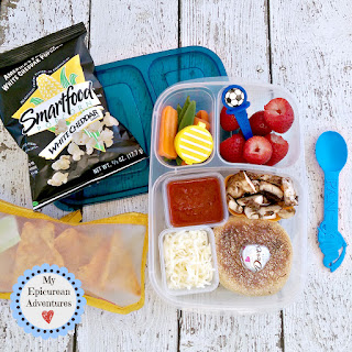 Lunch box ideas, school lunch ideas, lunches, pizza lunchables