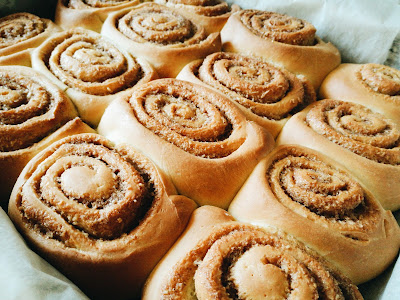 THE PATH TO WHERE: Cinnamon Rolls!
