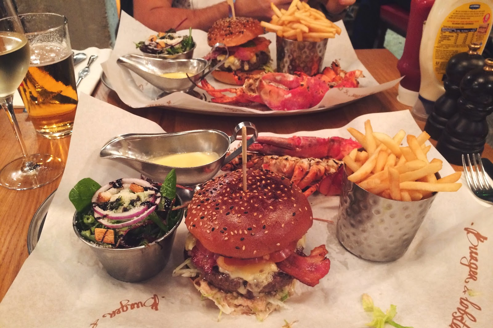 Burger and Lobster review, Soho