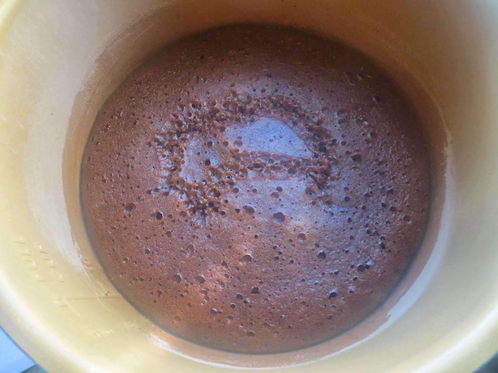 Bizcocho de Baylis y chocolate olla GM