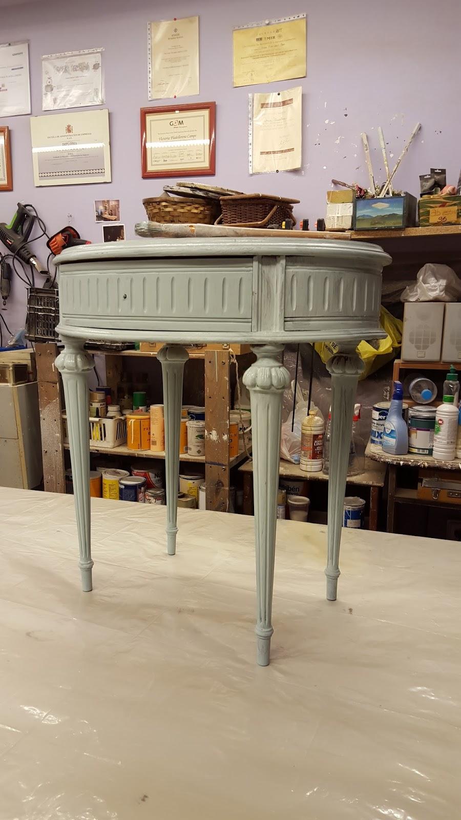 Candini muebles pintados nuevos y redecorados cambia el aspecto de tus muebles blancos - Muebles decapados ...