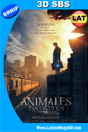 Animales Fantásticos y Dónde Encontrarlos (2016) Latino Full 3D SBS 1080P ()