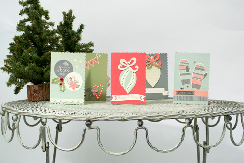 Its Not Too Late To Send Out Holiday Cards So Grab Your Favorite Scrapbook Paper And Get Creating