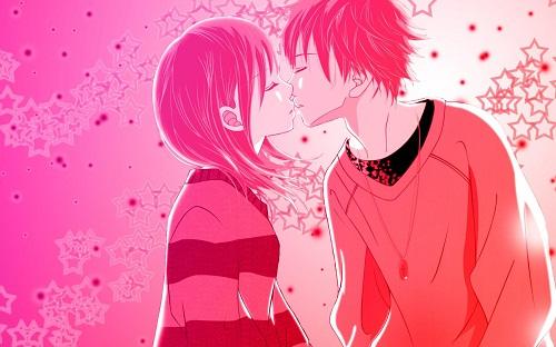 Latest Romantic Love Couple Cartoon Image