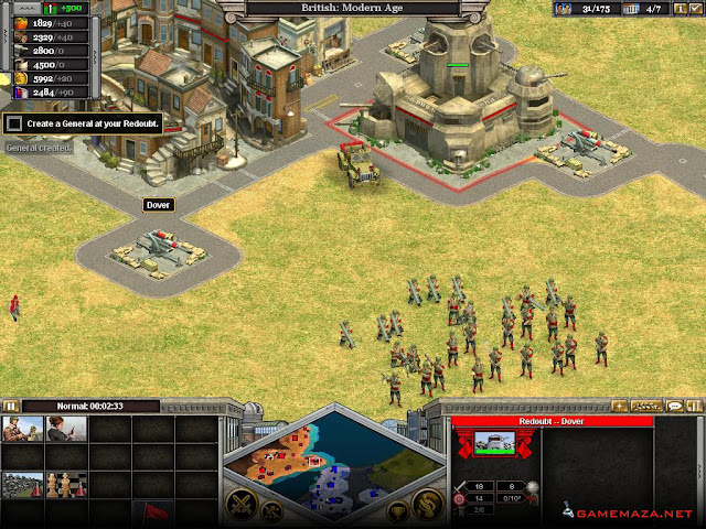 Rise of Nations Thrones and Patriots Gameplay Screenshot 4