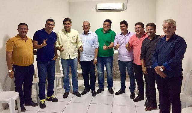 Primeira mão: Marcone Santana e Sávio Torres encabeçam chapa para disputar presidência do Cimpajeu