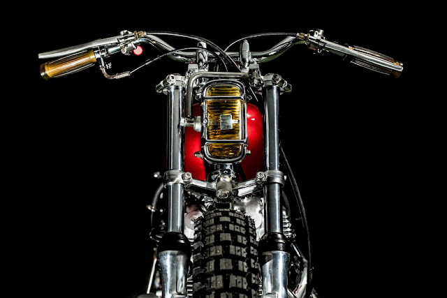 Honda CL 360 Street Tracker by Cowboy's Chopper, Taipei