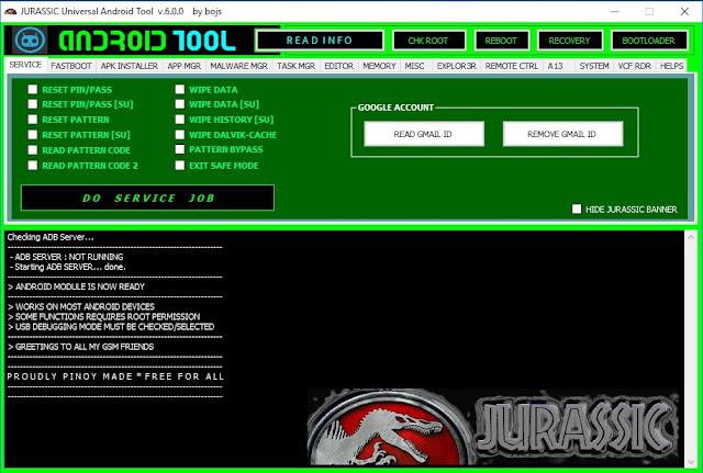 Jurassic UAT Tool 6.0 Free Download