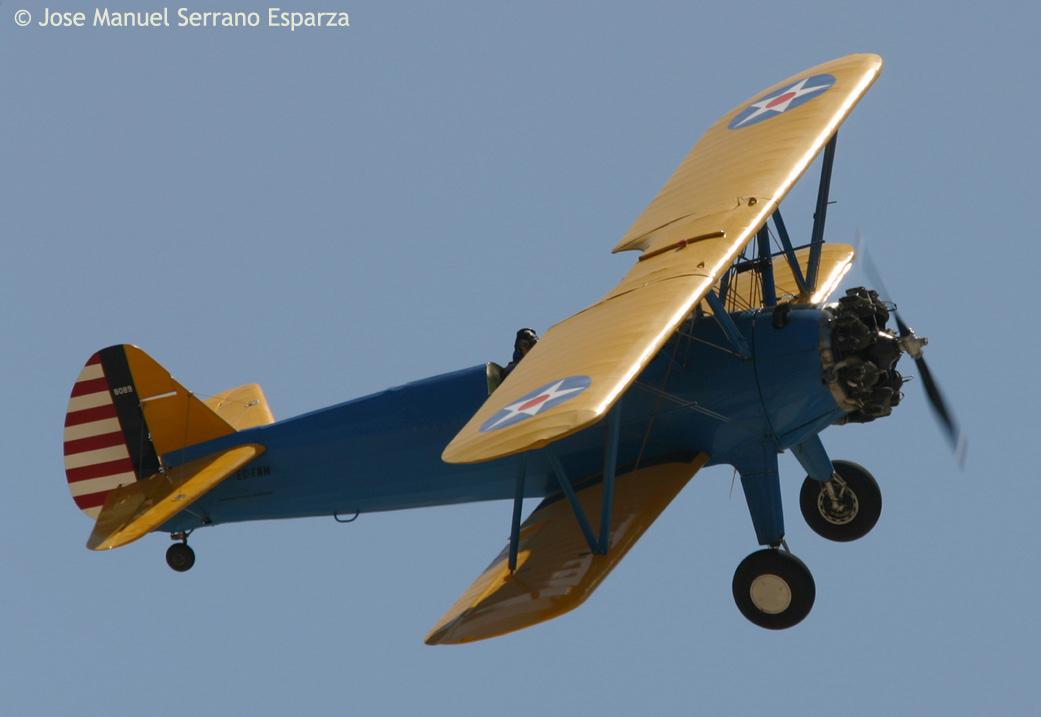 elrectanguloenlamano: STEARMAN MODEL 75: FLIGHT IN ITS PUREST FORM