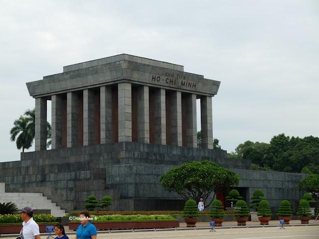 mausolee de ho hhi minh hanoi vietnam