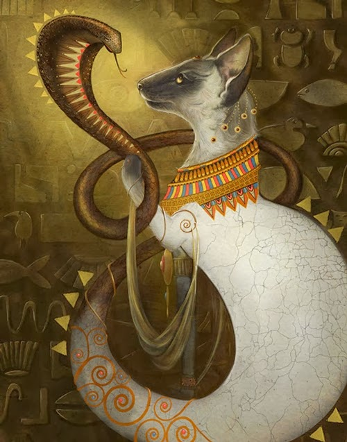01-Cleopatra-Animals-From-History-Illustrator-&-Writer-Christina-Hess-www-designstack-co