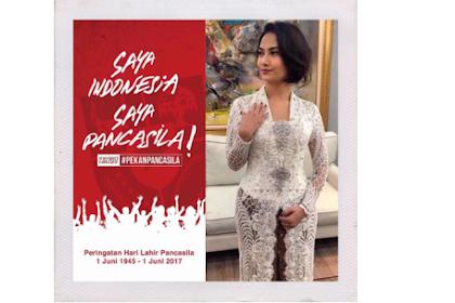Vanessa Angel: Saya Indonesia, Saya Pancasila; Netizen: Saya 80 Juta