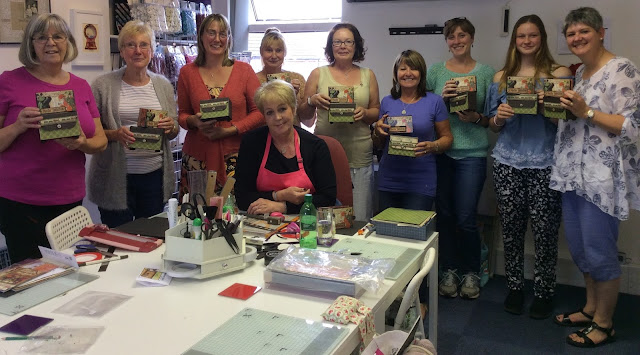 Workshop with Clare Charvill at Box of Delights Northampton