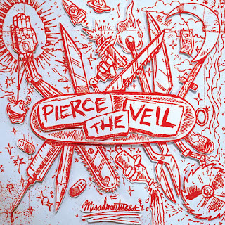 Pierce The Veil - Misadventures (2016) - Album Download, Itunes Cover, Official Cover, Album CD Cover Art, Tracklist