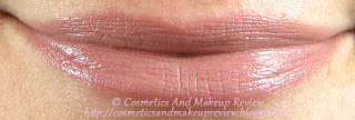 Rimmel - Lasting Finish Nude Collection by Kate Moss - Rossetto 045 Nude Malva - swatches su labbra
